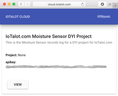 cloud.iotalot.com sensors list